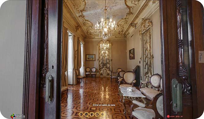 El Palacio de Aguirre de Cartagena podrá visitarse de forma virtual los 365 días del año