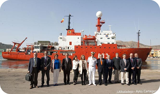 Arranca la XXVIII Campaña Antártica Española